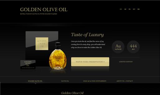 Responsive-website-design-inspiration-Golden Olive Oil