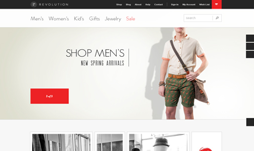 Shopping website- ecommerce website