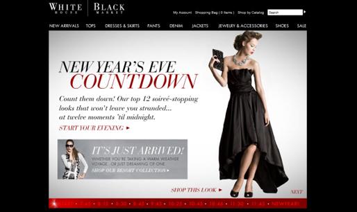 Responsive-website-design-inspiration-White House | Black Market