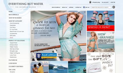 beautiful ecommerce website example