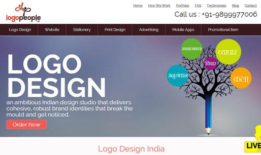 LogoPeopleindia-Responsive Website design